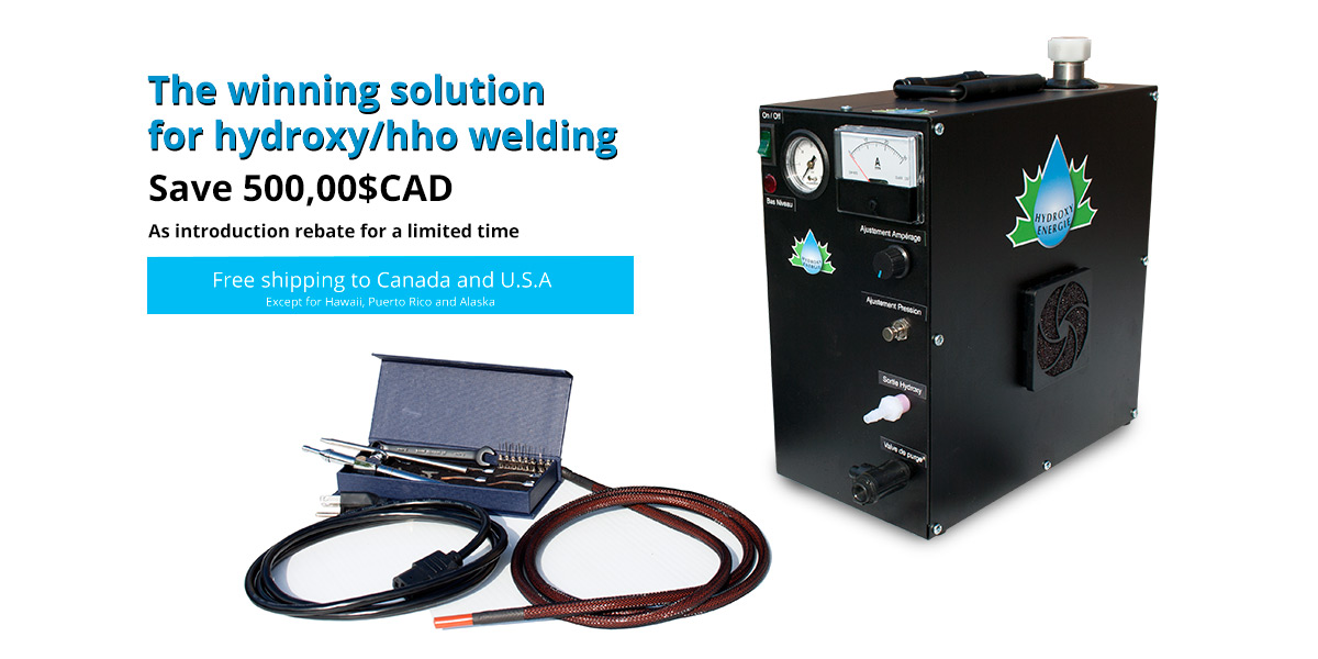 The winning solution for hydroxy/hho welding